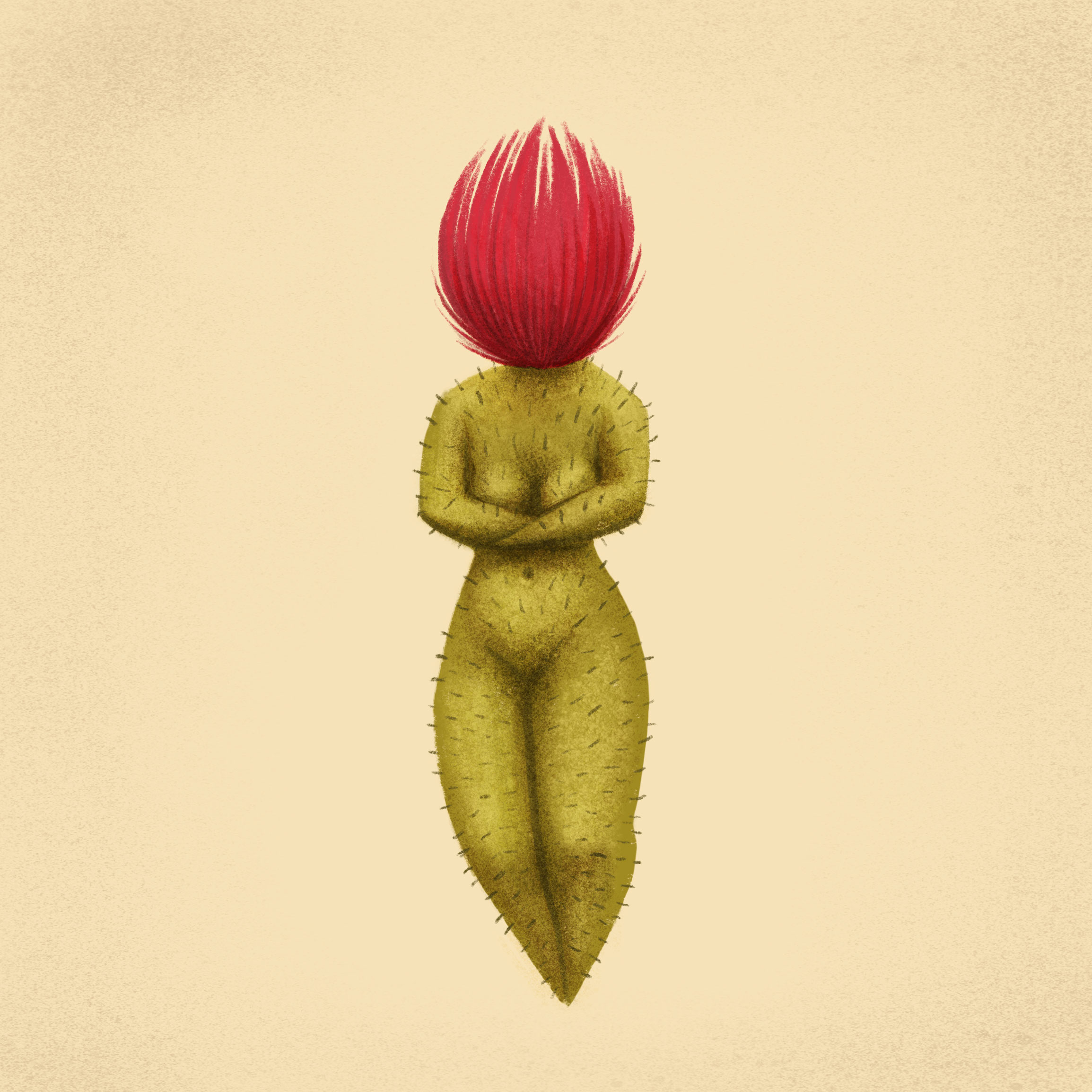 Cactus Woman by Dunaway Smith