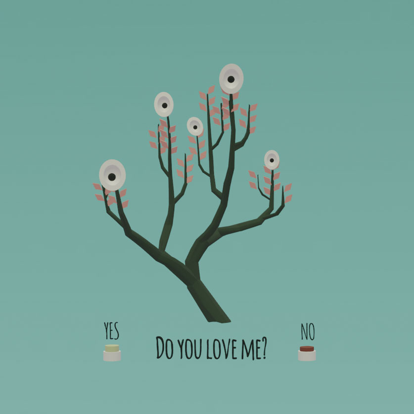 Do You Love Me Tree- Augmented Reality Valentine by H. C. Dunaway Smith