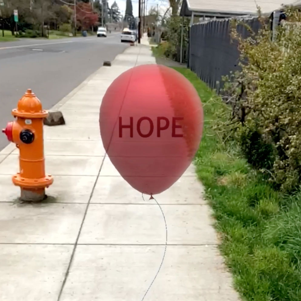 AR Hope Balloon by Dunaway Smith