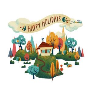 AR Holiday Card by Dunaway Smith