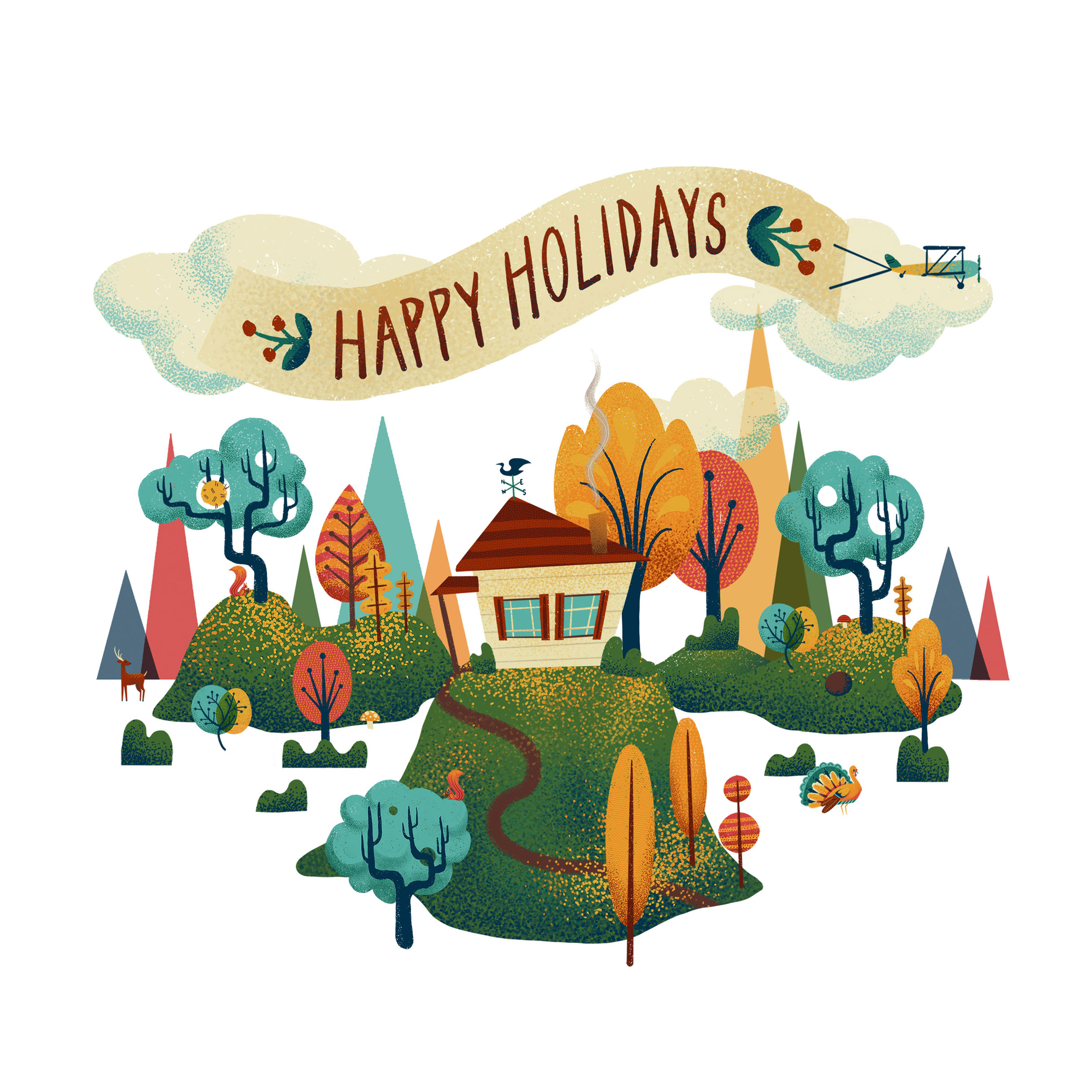 AR Holiday Card by Dunaway Smith