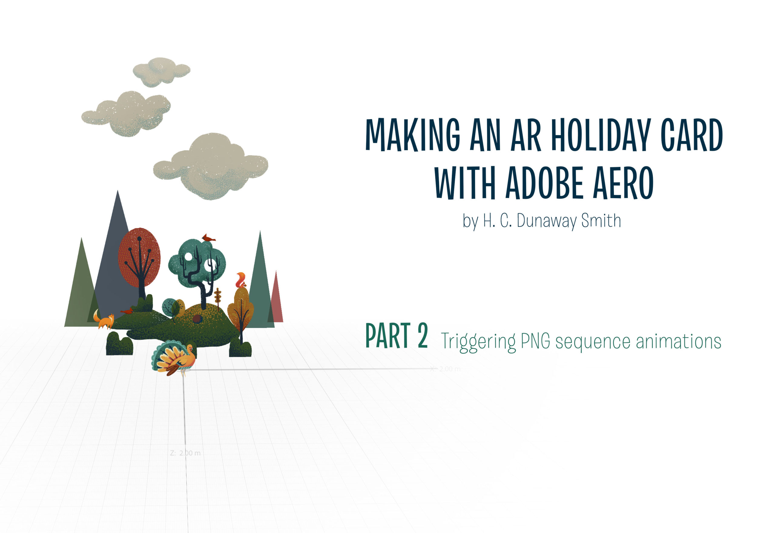 Adobe Aero Tutorial Part 2 - Triggering PNG Sequences