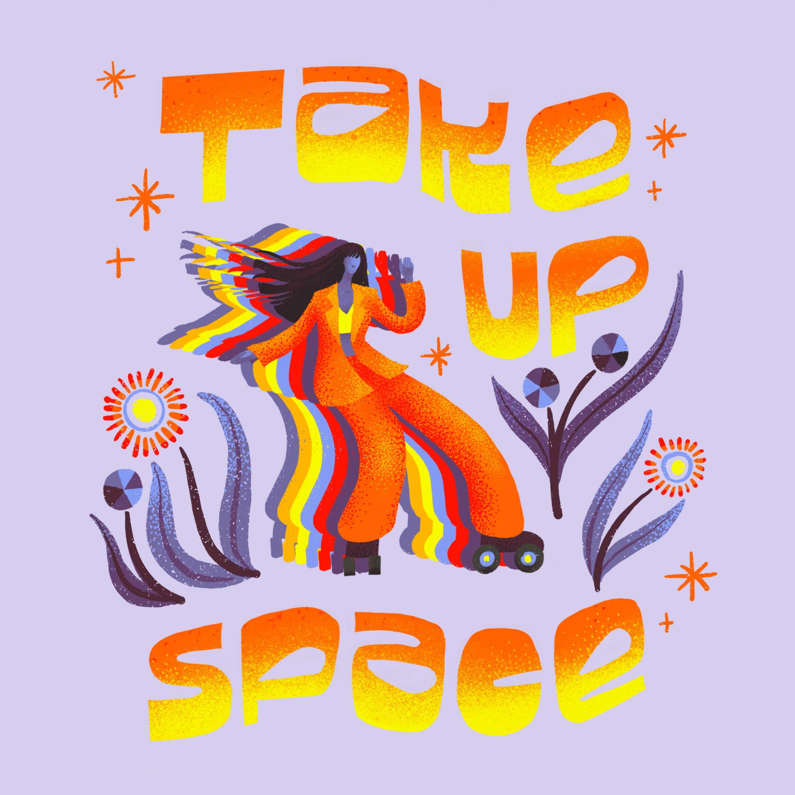 Take Up Space - AR Artwork by Dunaway Smith