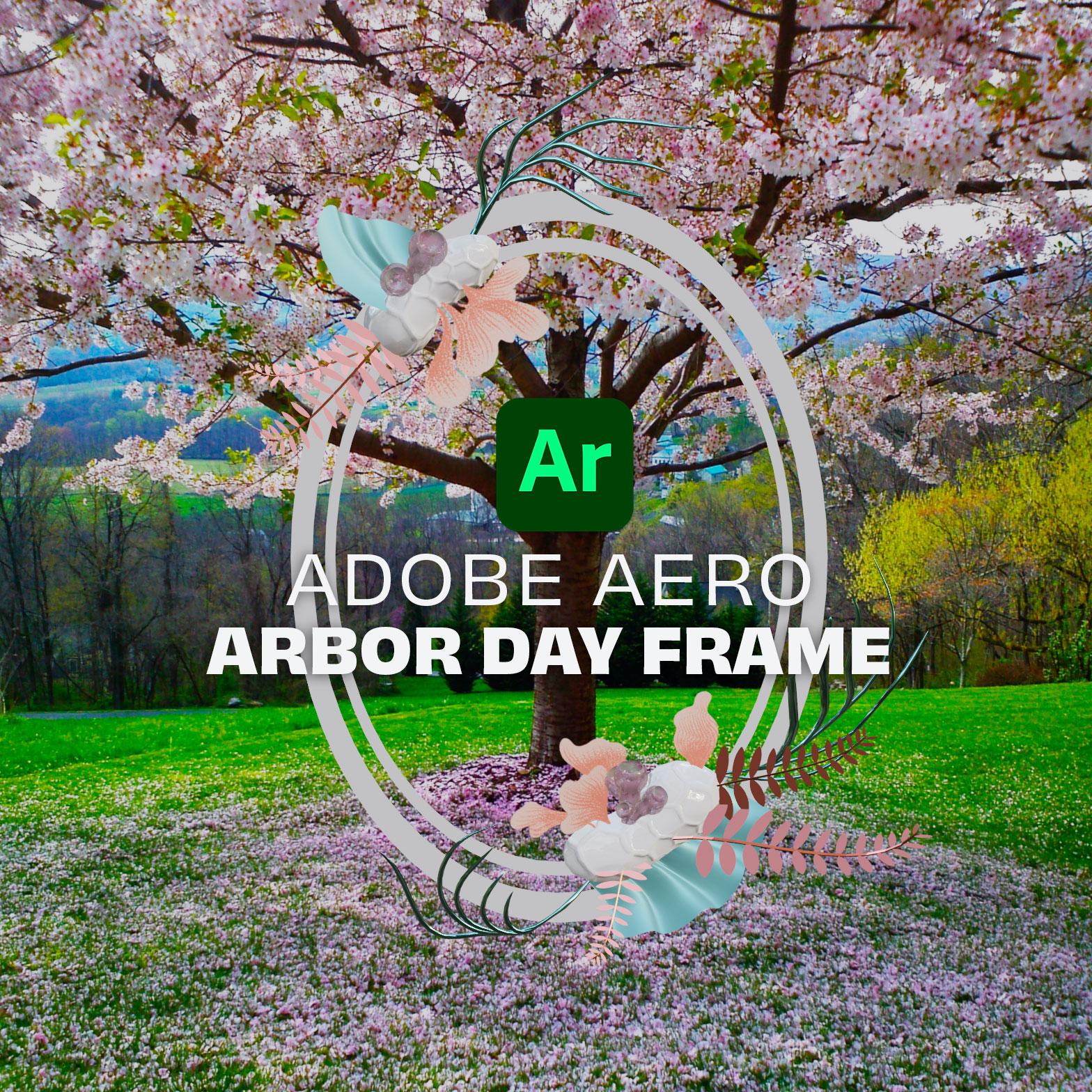 AR Arbor Day Frame