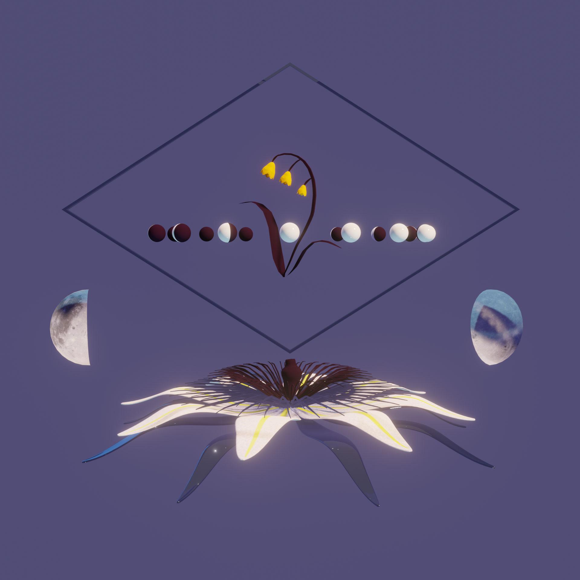 Flower Moon - AR Artwork by Dunaway Smith